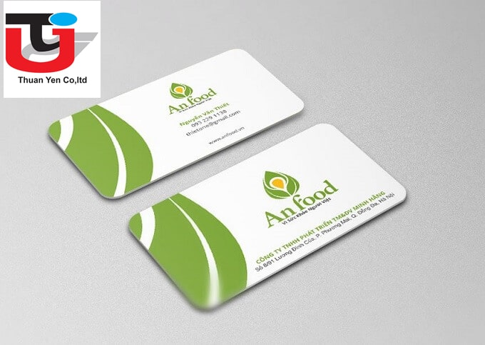 thiết kế card visit 1